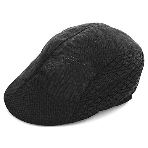 Waroomss Recién llegado de otoño estilo cómodo gorro de boina de boina  respirable gorra de golf 4996a13cafa