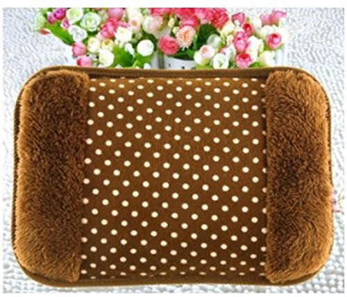 GJSHOP Electric Hot Bag, Hand Warmer, Electric Heater Warm Bag, Heating Gel Pad Fur Velvet With Hand Pocket Pain Relieve