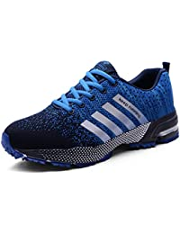Bravover Zapatillas de Deporte Hombres Zapatos de Gimnasia Para Caminar de Peso Ligero Zapatillas de Deporte Zapatos Deportivos Para Hombre