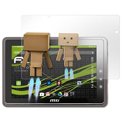 atFolix Bildschirmfolie kompatibel mit MSI WindPad 110W Spiegelfolie, Spiegeleffekt FX Schutzfolie