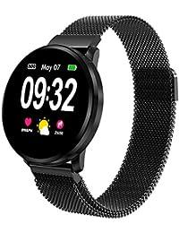 Powcan Smartwatch Orologio Fitness Uomo Donna, Fitness Tracker Orologio Cardiofrequenzimetro e Contapassi e Calorie da Polso, Orologio Sportivo Activity Tracker Impermeabile IP67 per Android iOS