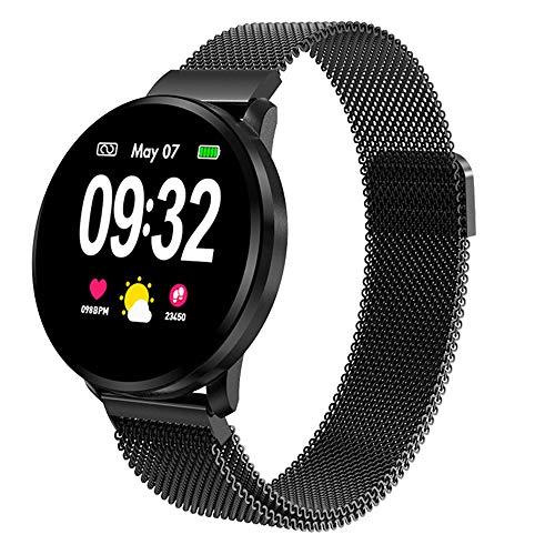 Powcan Smartwatch Mujer Hombre, Impermeable Reloj Inteligente Elegante Monitores de Actividad Impermeable...