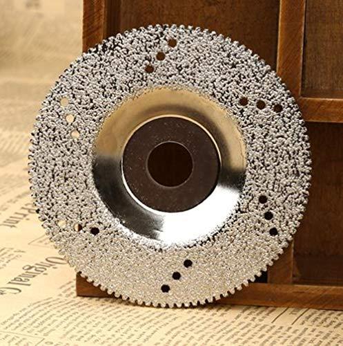 Hpybest Diamantschleifscheibe für Dremel Drehwerkzeug für Marmor, Beton, Porzellan, 100 mm