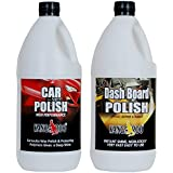 KANGAROO CAR Polish 1 Litre + Dashboard Polish 1 Litre + 4 Foam APPLICATORS