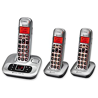 Amplicomms BigTel 1280 Amplified Trio Cordless Phone