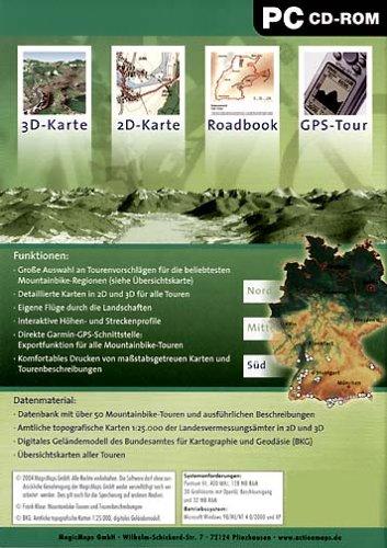 Mountainbike Guide - Deutschland Süd
