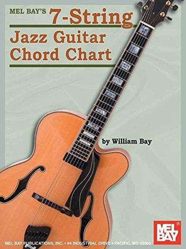 Mel Bay'S 7-String Jazz Guitar Chord Chart