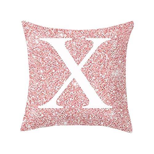 Moonuy Sofa PillowCase Kissenbezug Cotton Fiber Multicolor Sitzkissen Sofa Car Kissenbezug Home Decoration 45cm x 45cm