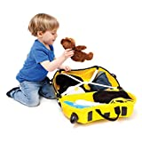 Trunki Ride-on Suitcase und PaddlePak Koffer-Set, 18 Liter, Gelb - 3