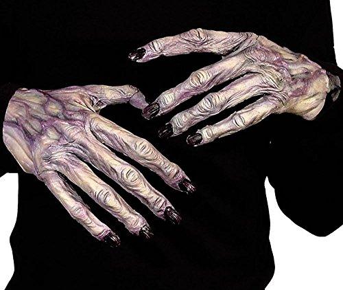 Erwachsene Halloween Monster Ghul Gloves (Monster Hand)
