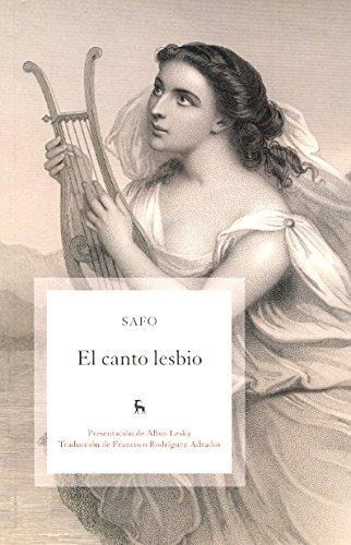 El canto lesbio (VARIOS GREDOS) por Safo De Mitelene