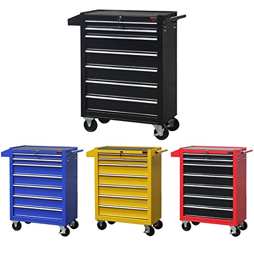 Dirty Pro Tools Mobile Roller Werkzeug Brust Trolley Cart Storage Tool Box Toolbox auf Rad (Stahl Brust-tool-box)