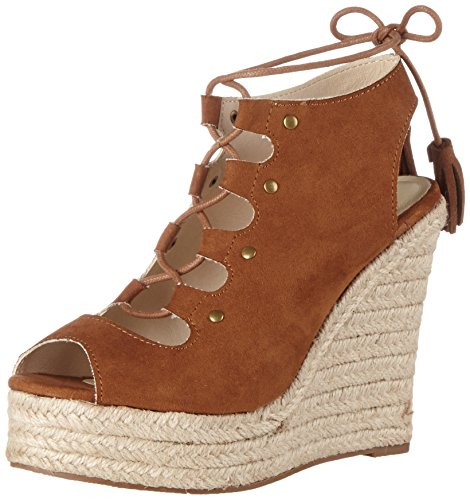 Buffalo Shoes Damen 314550 Imi Suede Riemchensandalen, Braun (Brown 01), 39 EU
