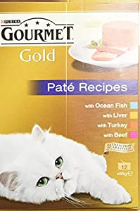 Gourmet Gold 12 x 85 g (Pack of 8, Total 96 Cans)