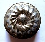 Antiquitäten - antike Backform, Verzierung, Schokoladenform - 5,5 cm (259)