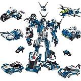 Building Blocks For Boys Robot Building Blocks, Heroes Rescue Bots Toy, Deformazione Robot Model, Creative Assembling Building Blocks Giocattoli, Digital Learning Toy, Giocattoli da costruzione Educat