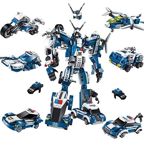 Robot Transformers 6 in 1 Mini Giocattolo Costruzioni