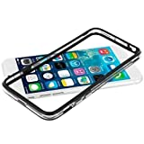 iPhone 6/6s Silicon Bumper Transparent Black by G4GADGET®