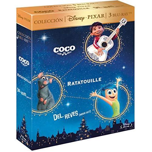 Pack: Coco (BD) + Ratatouille + Del Revés [Blu-ray] 3