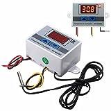 MYAMIA 3Pcs xh-W3001 220V 10A Digital Display LED Temperatur-Controller Mit Thermostat Control Switch Sonde