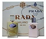 Prada Milano Infusion Iris Set 100ml Eau de Parfum Spray 100ml Body Lotion