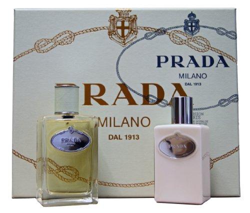 Prada Milano Infusion Iris Set 100ml Eau de Parfum Spray 100ml Body Lotion