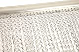 Generic dyhp-a10-code-4895-class-1-- Plata Cortina Control N con aluminio Metal T puerta cadena cadena de plagas contra insectos para puerta pantalla ium met--dyhp-uk10-160819-2922