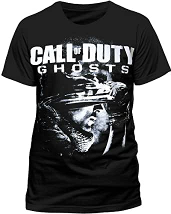 Call of Duty - T-shirt Homme - CALL OF DUTY GHOSTS - COVER, Noir (Black), Fr:X-Large (Taille Fabricant: X-Large)
