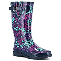 Western Chief Womens Camoflorage Rain Boot Multi-Color 11
