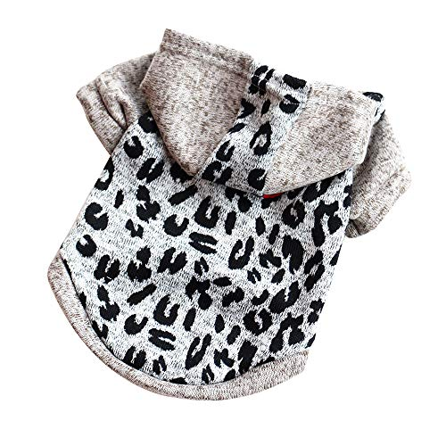 Ropa para Mascotas,Gusspower Sudadera con Capucha Rayas Moda Mascotas Perros Gatos Caliente algodón Suéter Abrigos de Invierno