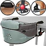 Table/chaise haute/siège WC avec imprimé girafe et sac de transport (jusqu'à 15kg)
