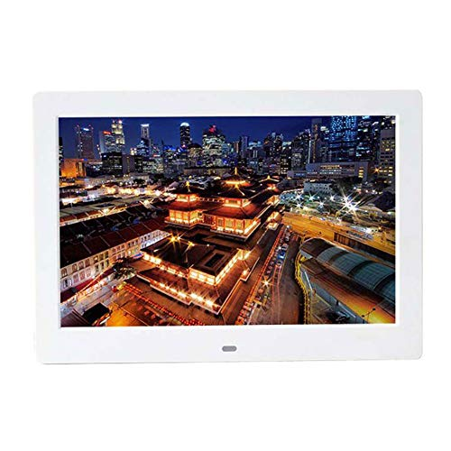 FLYWM Digital Photo Frame Zehn Zoll HD elektronisches Album Display Rack Werbung Maschine