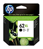 HP 62XL - Cartucho de tinta Original HP 62 XL de álta capacidad Negro para HP OfficeJet 5740...