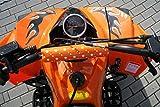 Kinder Quad S-10 125 cc Motor Miniquad 125 ccm orange Warriorer - 7