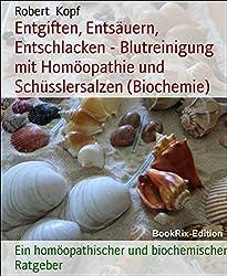 Entgiften, Entsäuern, Entschlacken - Blutreinigung mit Homöopathie und Schüsslersalzen (Biochemie): Ein homöopathischer und biochemischer Ratgeber
