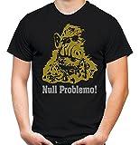 Alf Männer und Herren T-Shirt | Vintage Kleidung Outfit Geschenk | M1 (L, Schwarz)