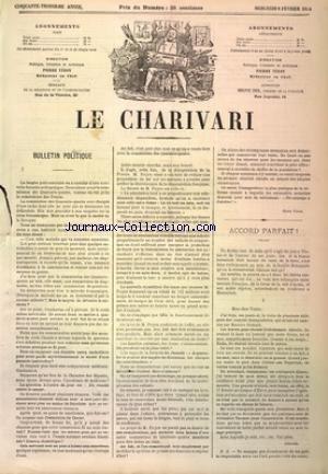 CHARIVARI (LE) du 04/03/1884