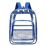 Mädchen Rucksack Süß Transparent Schulrucksack Schultaschen Schulranzen Damen Casual Campus Umhängetasche Daypacks Backpack LEEDY