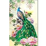 sunnymi Pfau der Chinesischen Art 5D Diamant Malerei Stickerei Geschenk Painting Bilder DIY Diamond (30 * 47CM)