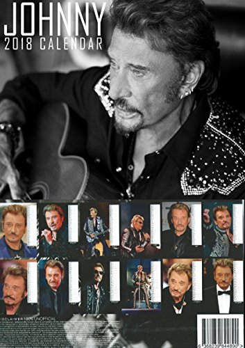 johnny hallyday calendrier 2018 johnny hallyday porte cl selfmobilier. Black Bedroom Furniture Sets. Home Design Ideas
