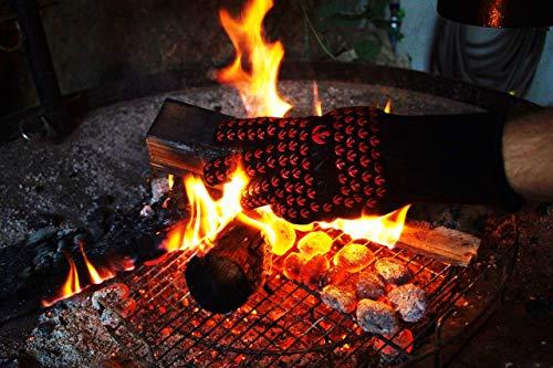 Halogi hitzebeständiger Ofenhandschuh und Kochhandschuh