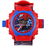 STYLEFLIX Spiderman Wonderful Projector Watch for Kids, Diwali Gift, Birthday Return Gift,24 Digital Projector Images.(Color