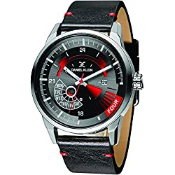 Daniel Klein Analog Black Dial Men's Watch-DK11298-1