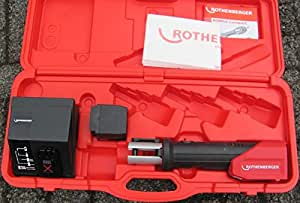 ROTHENBERGER Pince à sertir ROMAX Compact Li-Ion No. 1. 5020P 1.5020 P 15020P Boîte