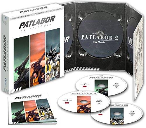 Patlabor Trilogía Edición Coleccionistas [Blu-ray]