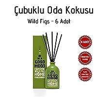 BE IN A GOOD MOOD Çubuklu Oda Kokusu - 6 Adet   100ml (WILD FIGS)