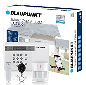 blaupunkt funk alarmanlage sa 2700 i mit gsm modul i sicherheitssystem mit bewegungsmelder t r. Black Bedroom Furniture Sets. Home Design Ideas