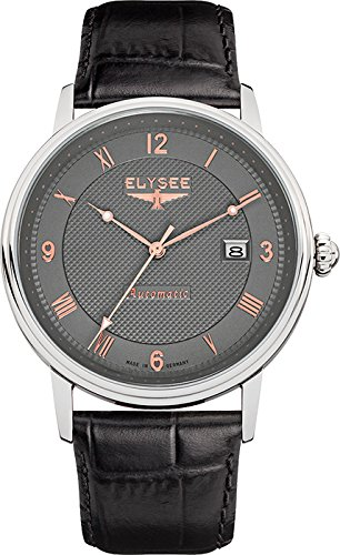 Elysee 77006 - Reloj de pulsera hombre, color Negro