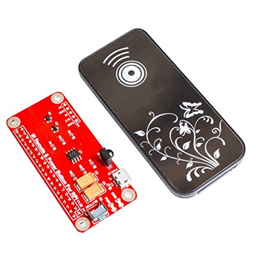 iHaospace IR Remote Control Power Button Module For Raspberry Pi 2/3 Switch Remote Control Module -