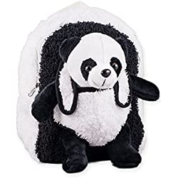 Panda oso de peluche Niños Jugar Mochila con extraíble de peluche de oso panda